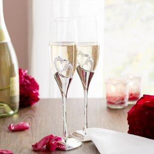 3eaa9d84cc0 Dorinda Stunning Wedding Glass Flute (Set of 2)