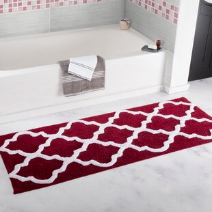 Red Yellow Gold Bath Rugs Mats Youll Love Wayfair