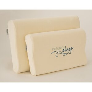 Visco Contour Memory Foam Pillow by Na..