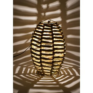 Blaire Beehive 1-Light Globe Pendant