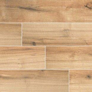 Palmetto Cognac 6 X 36 Porcelain Tile Wood Look In Brown