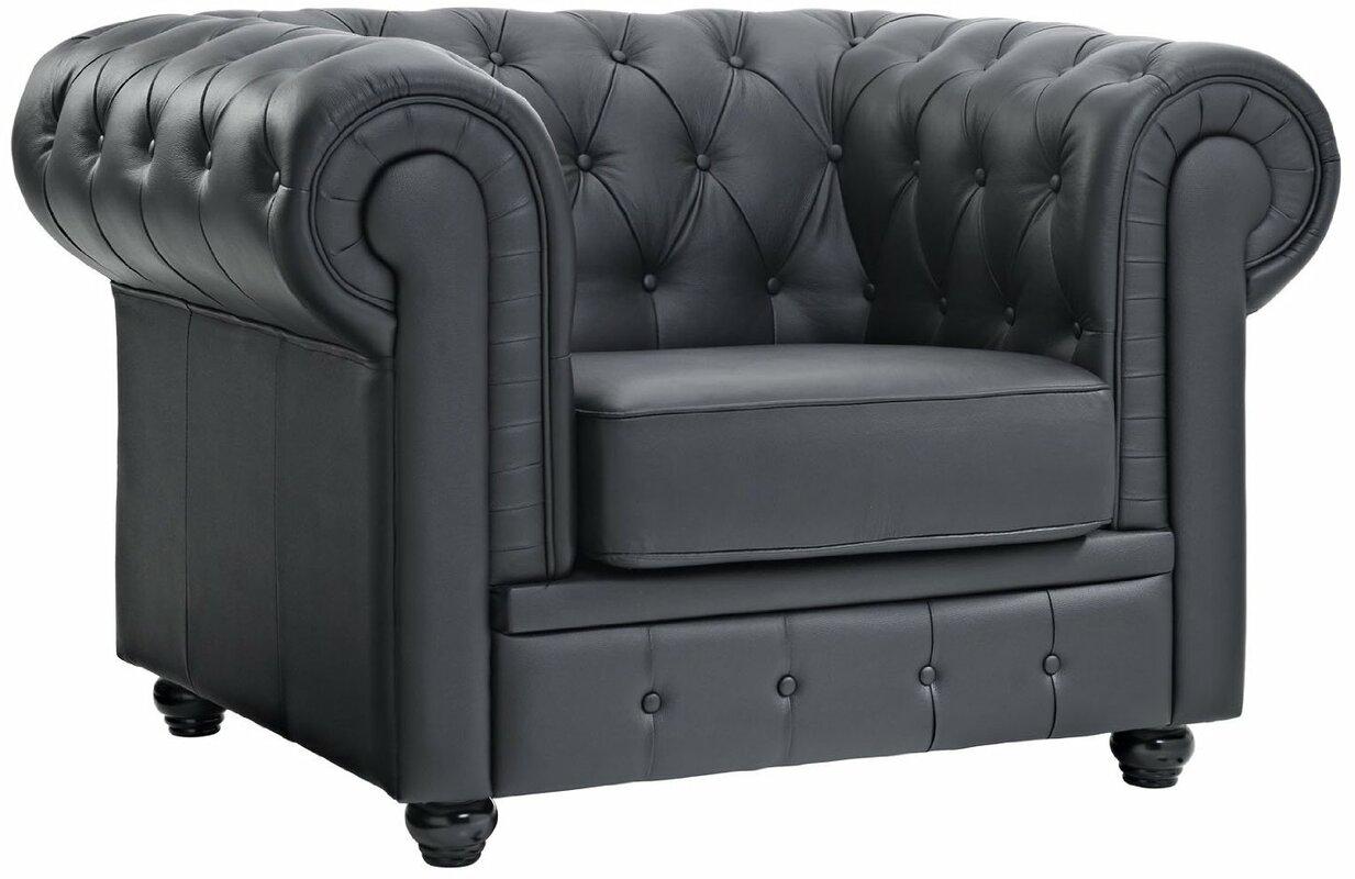 cigar zin vintage chair sofa home chesterfield conrad leather