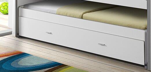 vipack etagenbett bonny mit stauraum 90 x 200 cm. Black Bedroom Furniture Sets. Home Design Ideas