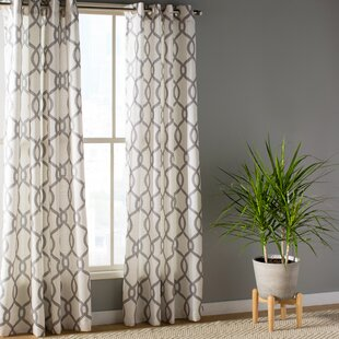 Light Blue And White Curtains Wayfair
