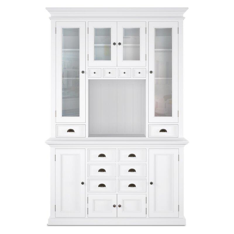 82a5725b5884 Beachcrest Home Amityville Kitchen China Cabinet & Reviews   Wayfair