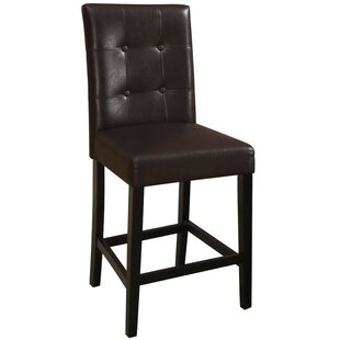 Routh Wooden Bar Stool (Set of 2)