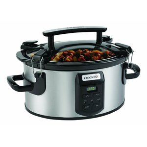 6-Quart Single Hand Cook Carryu00ae Oval Slow Cooker