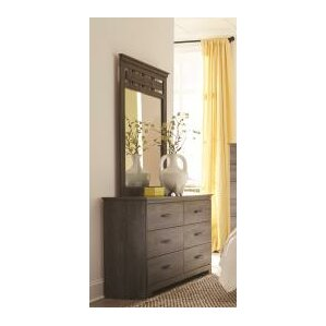Neenah 6 Drawer Double Dresser with Mirror by Lang Furniture