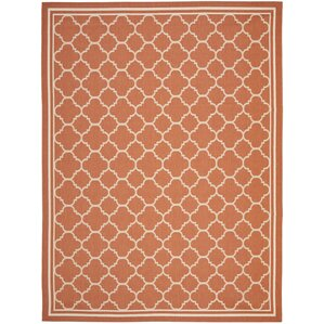 octavius orange outdoor area rug