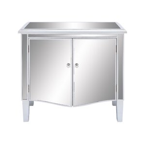 Mirror Accent Cabinet