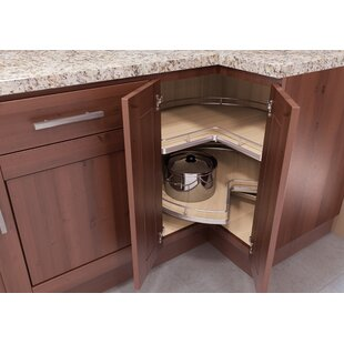 lazy susan in kitchen cabinet corner cabinet lazy susans you ll wayfair 22551