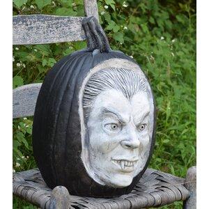 Carved Dracula Pumpkin