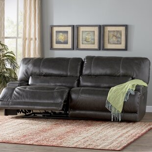 Casey Leather Reclining Sofa