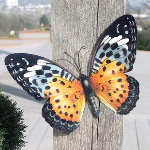 Outdoor Butterfly Wall Art Wayfair Co Uk