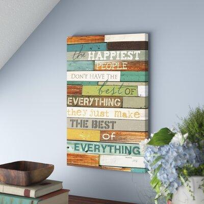 Inspirational Quotes Amp Sayings Wall Art You Ll Love Wayfair