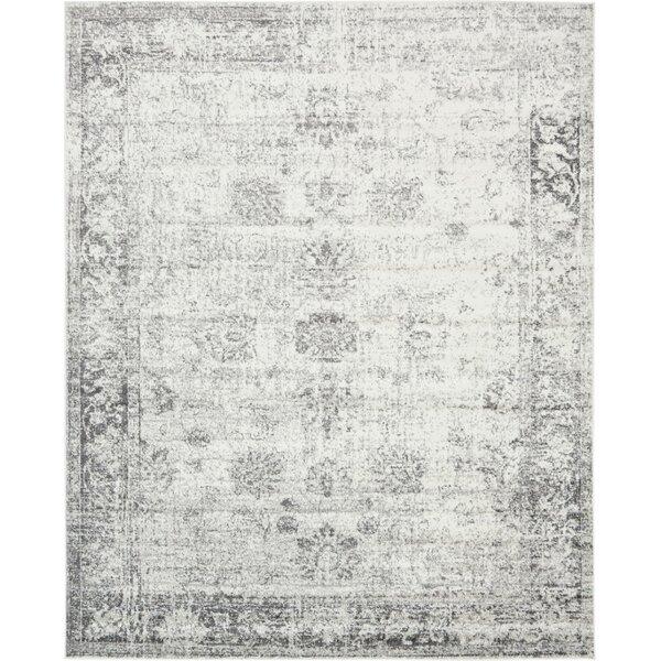 - Mistana Brandt Machine Woven Gray/White Area Rug & Reviews Wayfair