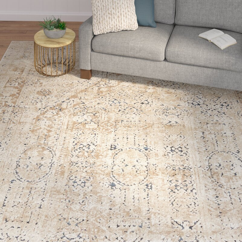 Laurel Foundry Modern Farmhouse Abbeville Beige Area Rug