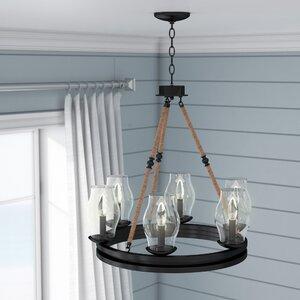 Cobham 6-Light Candle-Style Chandelier