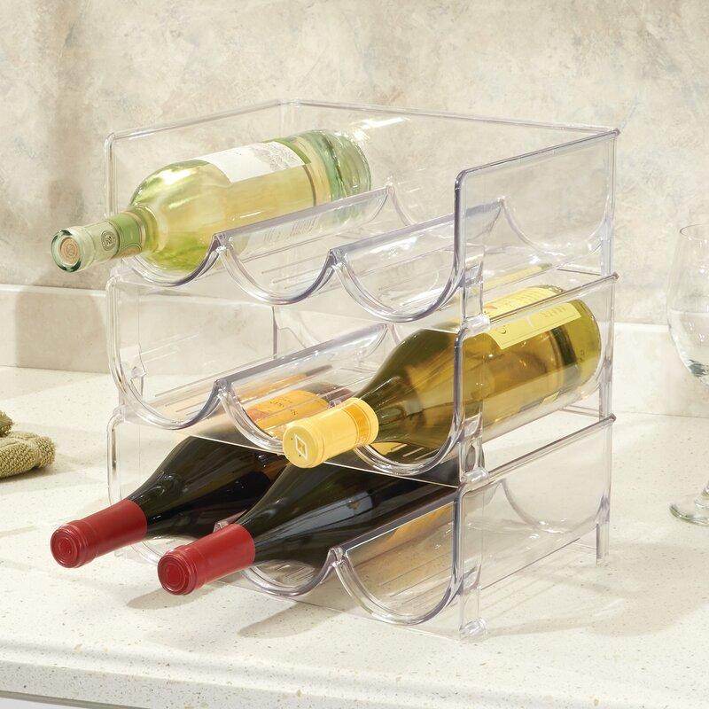 2c581d7cab4 Fridge/Freeze Binz Stackable 3 Wine Bottle Rack