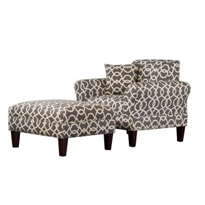 Briley Armchair and Ottoman by Carolina Acce..