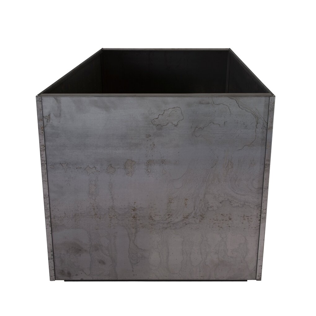 Nice planter corten steel planter box reviews wayfair for Wayfair garden box