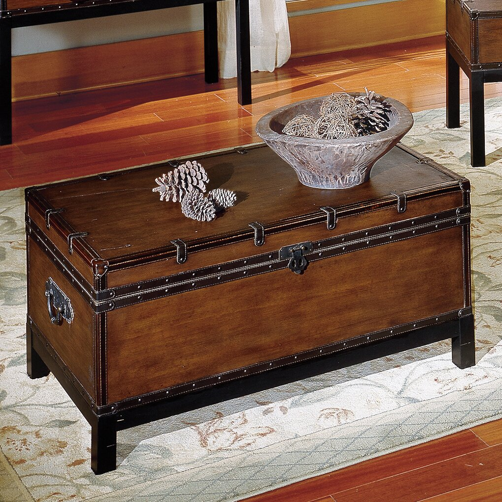 Glenway Trunk Coffee Table Trunk - Alcott Hill Glenway Trunk Coffee Table Trunk & Reviews Wayfair