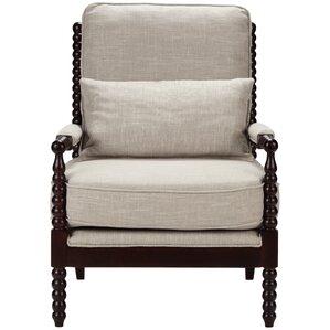 Yentin Spool Armchair by Gracie Oaks