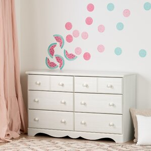 Barra 6 Drawer Double Dresser by Harriet Bee