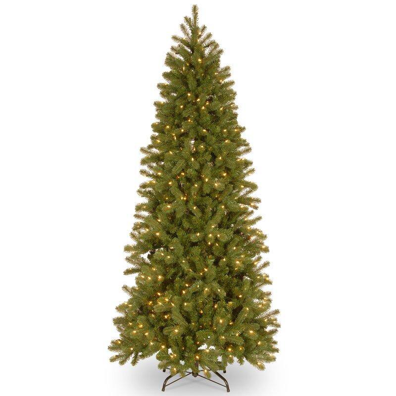 Douglas Fir Artificial Christmas Trees: The Holiday Aisle Downswept Douglas Green Fir Artificial