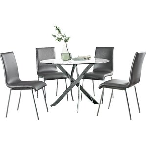 Oradell 5 Piece Dining Set by Wade Logan