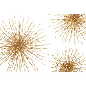 Wall Decor Set gold wall accents you'll love | wayfair