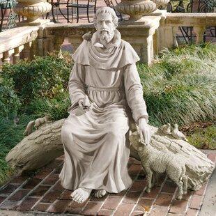 In Nature S Sanctuary St Francis Garden Statue