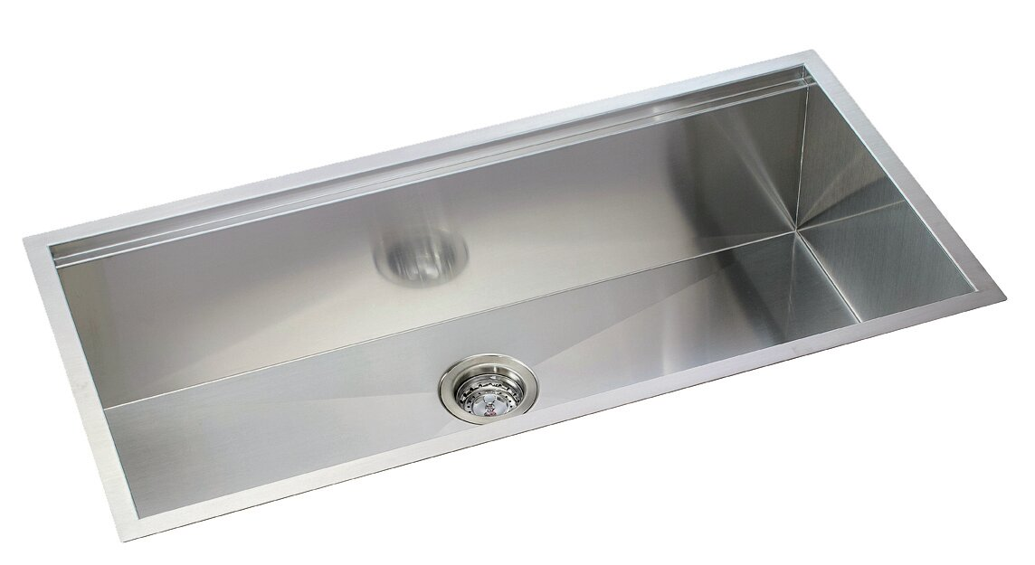 ledge series 36   x 10   undermount or topmount kitchen sink lenova ledge series 36   x 10   undermount or topmount kitchen sink      rh   wayfair com