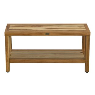 Teak Shower Bench 36 Wayfair