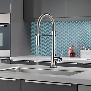 Quickview Delta Trinsic Pro Pull Down Touch Single Handle Kitchen Faucet