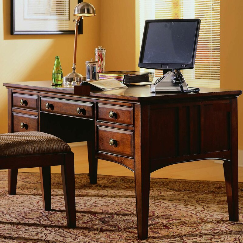 Hooker Furniture Bedford Row Keyboard Tray Executive Desk