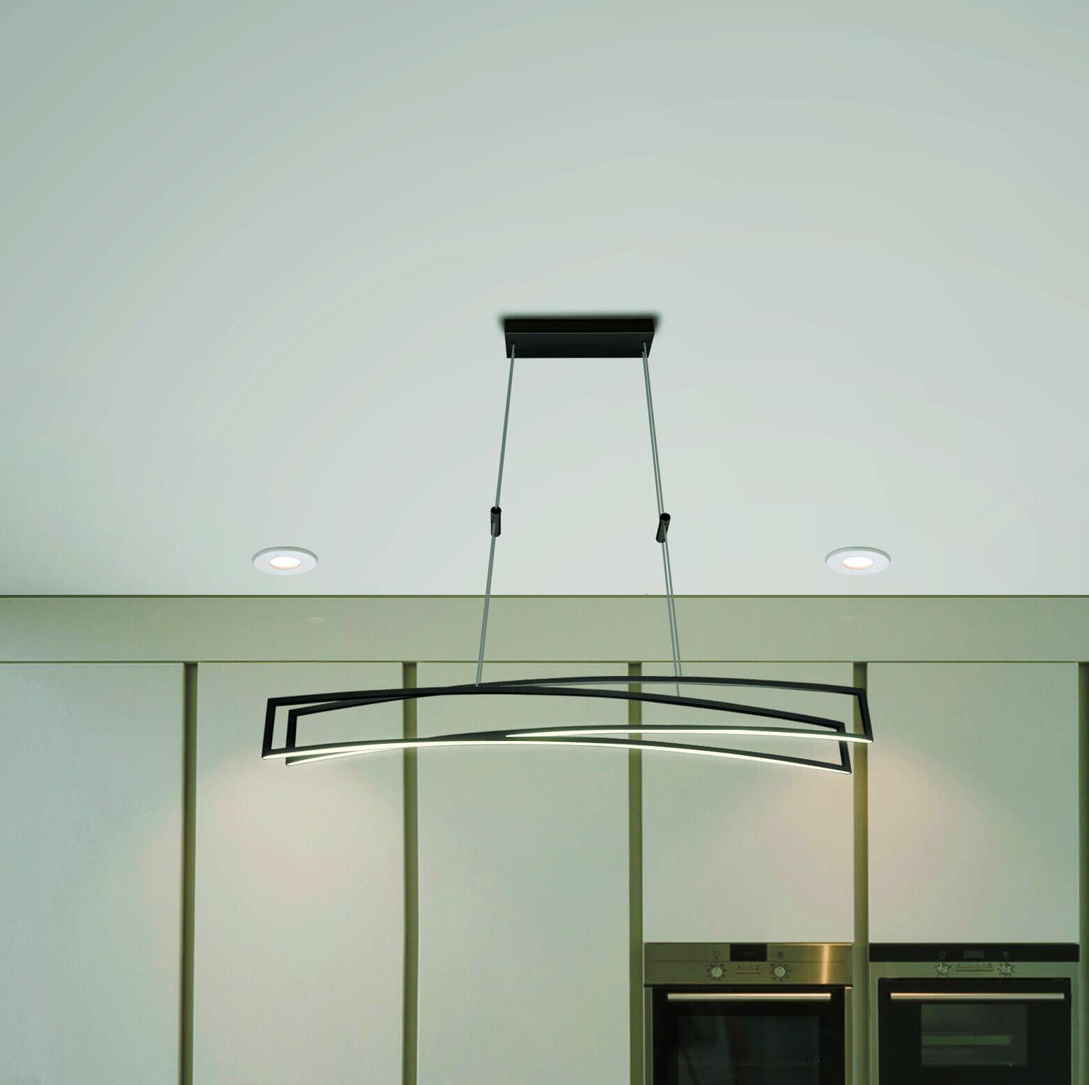 Orren Ellis Northgate 2-Light LED Pendant   Wayfair