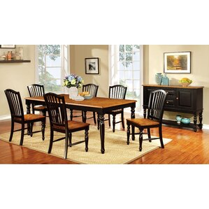 Tanner 9 Piece Dining Set by Hokku Designs