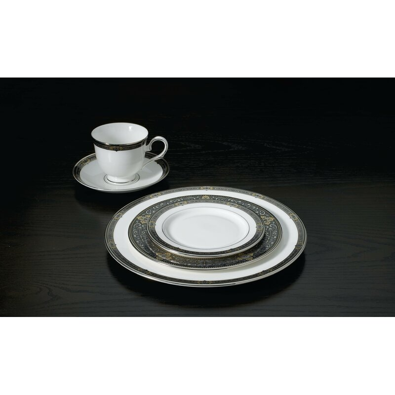 Vintage Jewel 5 Piece Place Setting, Service for 1
