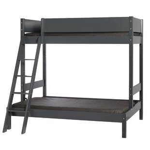 Vale European Single Bunk Bed with Slatted Frame by Viv   Rae