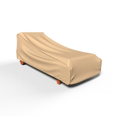 BudgeIndustries Chelsea Outdoor Chaise Lounge Cover Size: 30 H x 27 W x 80 D