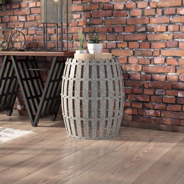 Trent Austin Design Gibbs Wood And Metal Barrel End Table U0026 Reviews |  Wayfair