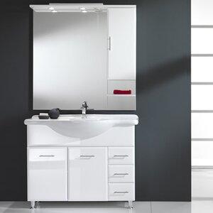 Urban Designs 95 cm Waschtisch Viva mit Spiegel