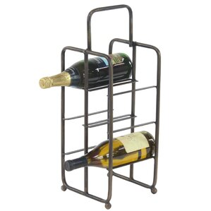 Dominque Contemporary Iron 6-Bottle Tabletop Wine Bottle Rack by Williston Forge