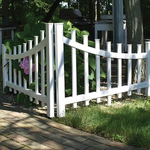 Corner Accent Fence