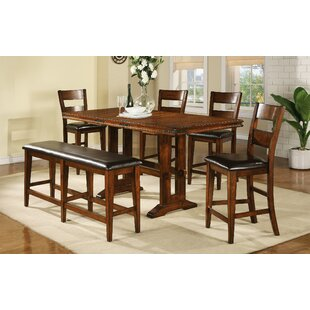 Nashoba 6 Piece Drop Leaf Dining Set