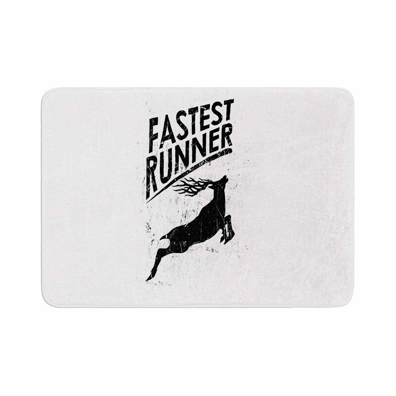 Barmalisirtb Fastest Runner Memory Foam Bath Rug
