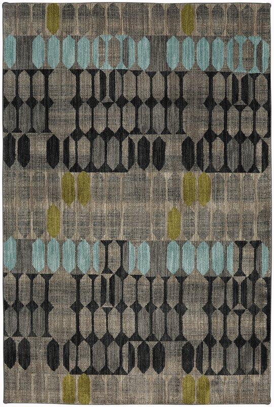 Metropolitan Gray/Black Area Rug