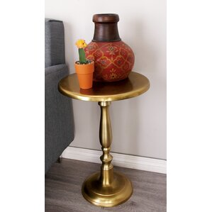 Cole & Grey Aluminum End Table Image