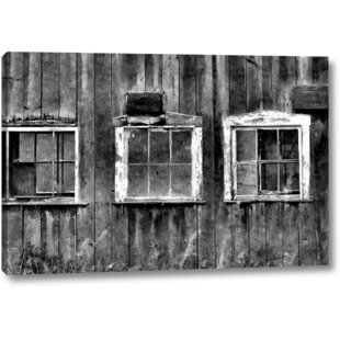 The Old Barn Window Photographic Print On Wrapped Canvas